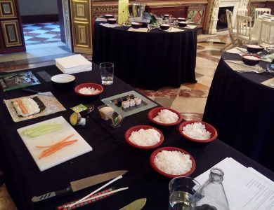 Taller de Sushi en el Palacio de Santoña _23