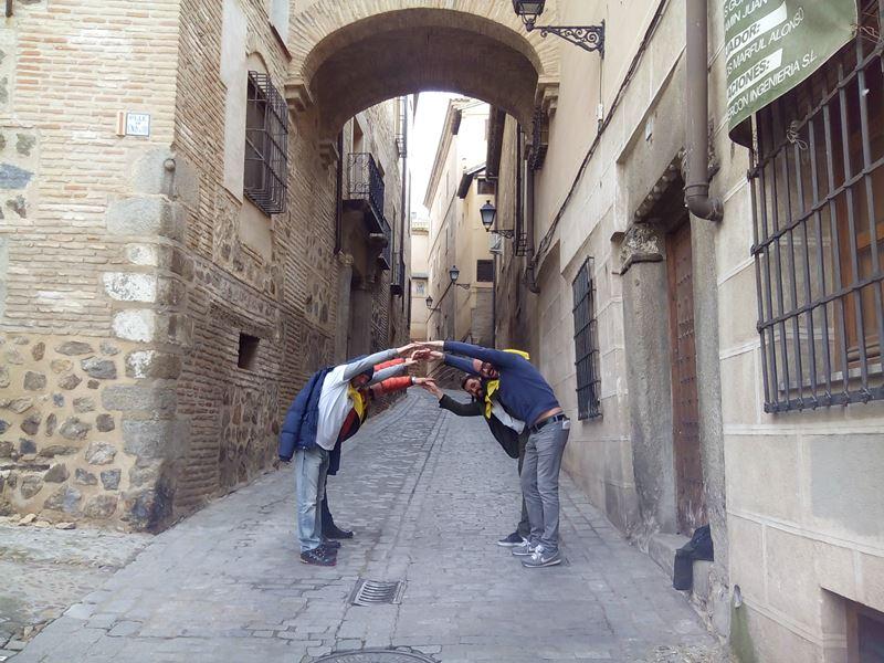 Gymkana con tablets Toledo